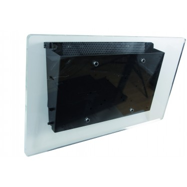 Anti-theft and tilting wall box
