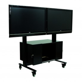 Visiotech furniture 2 screens